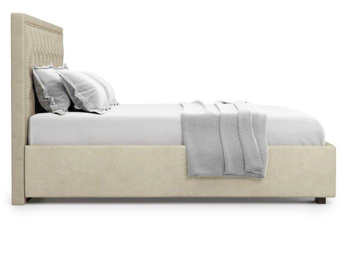 Кровать с подъемным механизмом Orto 180х200 бежевого цвета