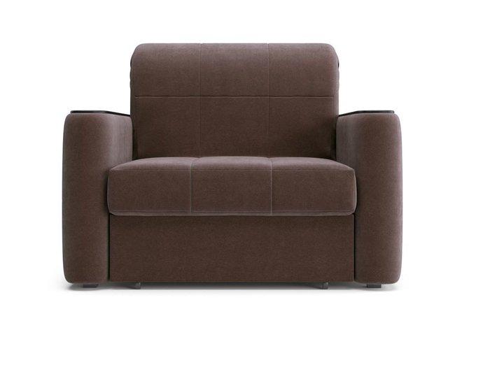 Кресло-кровать Ницца коричневого цвета