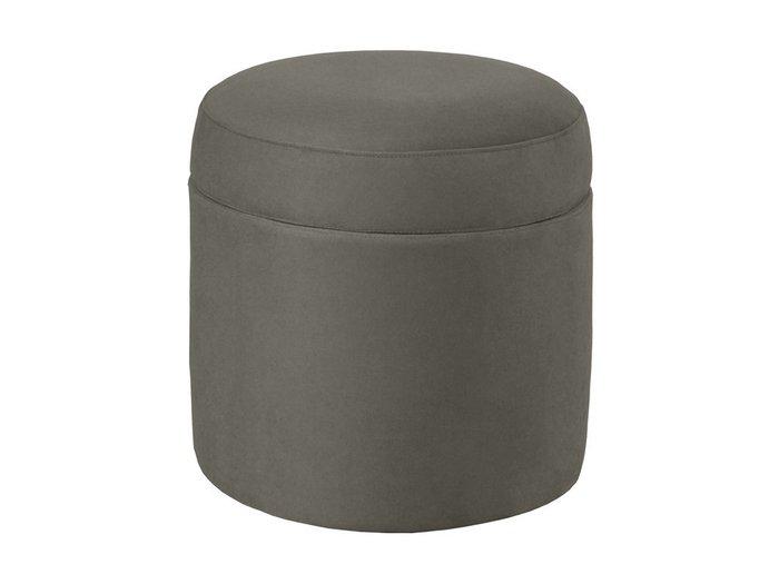 Пуф Barrel серого цвета