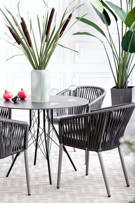 Стол интерьерный Конте цвета Серый гранит