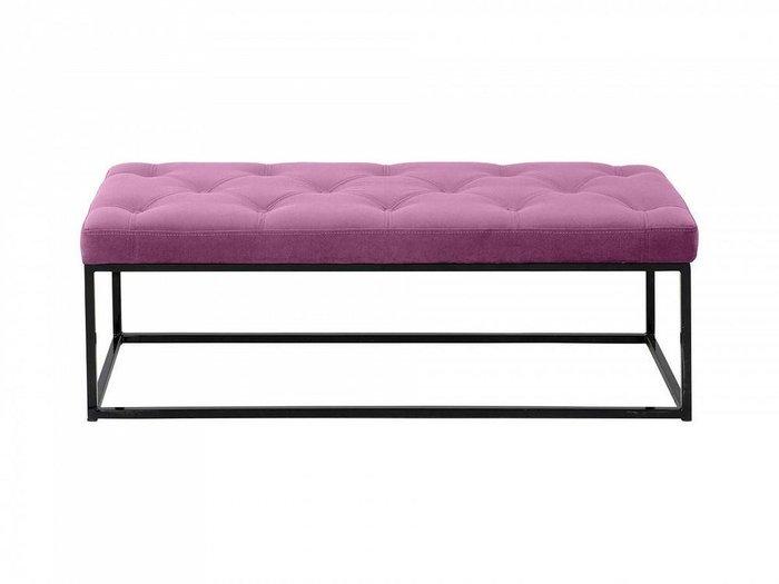Банкетка Loft пурпурного цвета