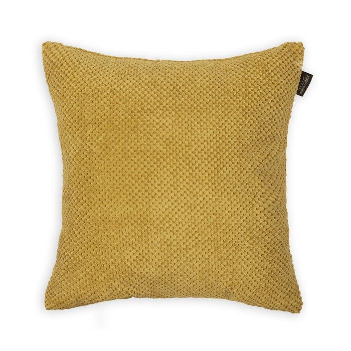 Декоративная подушка Citus Umber желтого цвета