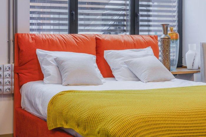 Кровать Trazimeno 160х200 зеленого цвета
