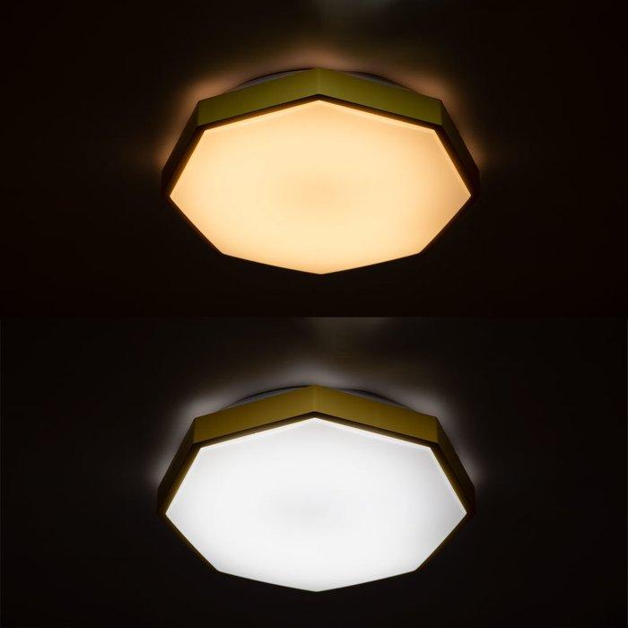 Потолочный светильник Kant желтого цвета