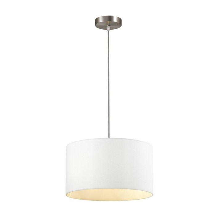 Подвесной светильник Nikki с белым абажуром