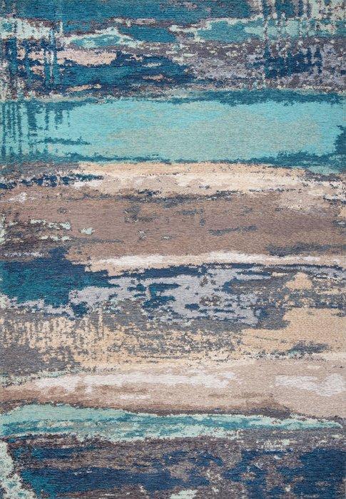 Ковер Alina Savage сине-коричневого цвета 160х230