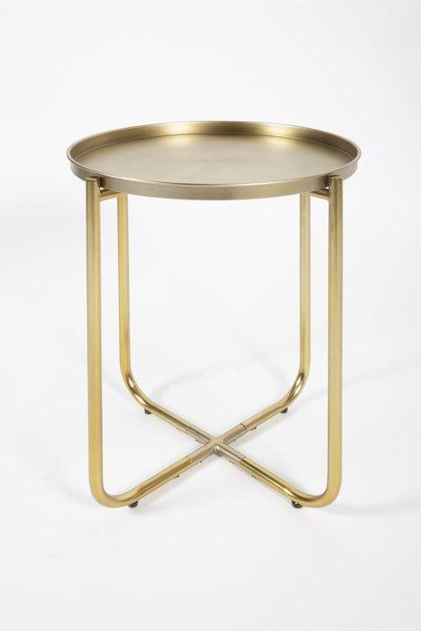 Кофейный столик Avril золотого цвета