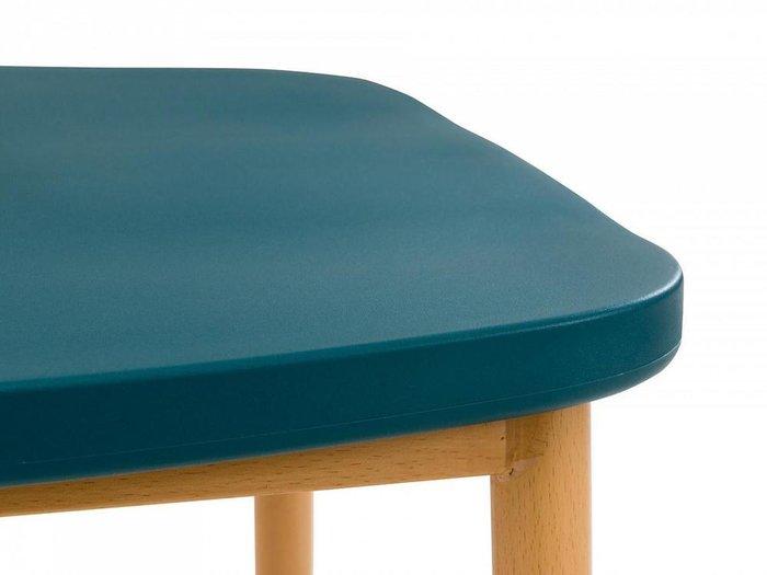 Стул Zig Zag сине-зеленого цвета