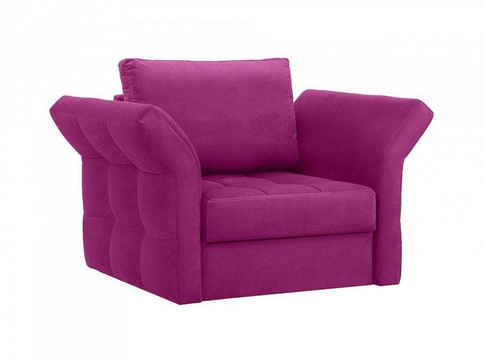 Кресло Wing пурпурного цвета