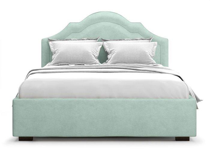 Кровать с подъемным механизмом Madzore 180х200 мятного цвета