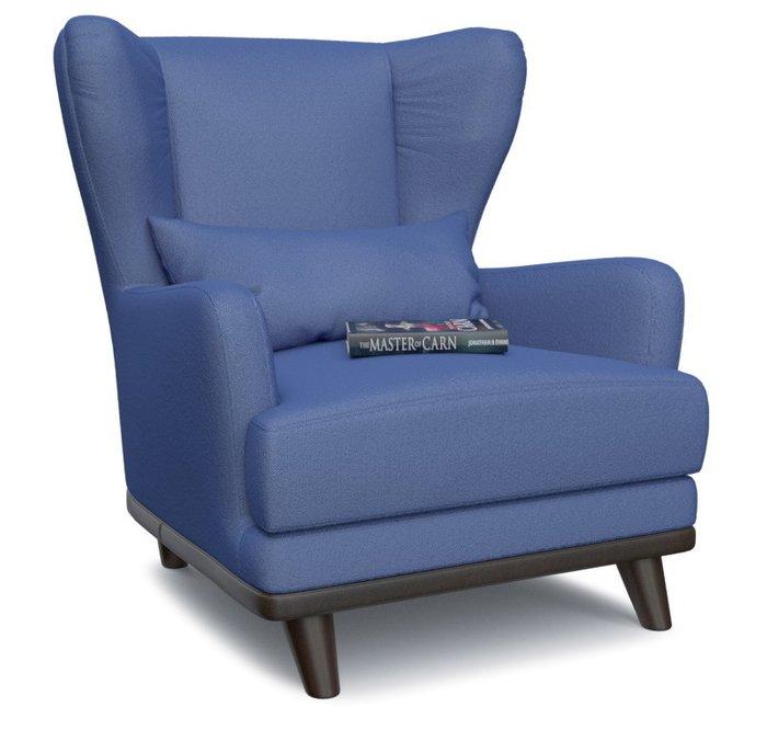 Кресло Роберт Симпл Блю синего цвета