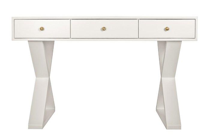 Письменные столы Jasper белого цвета