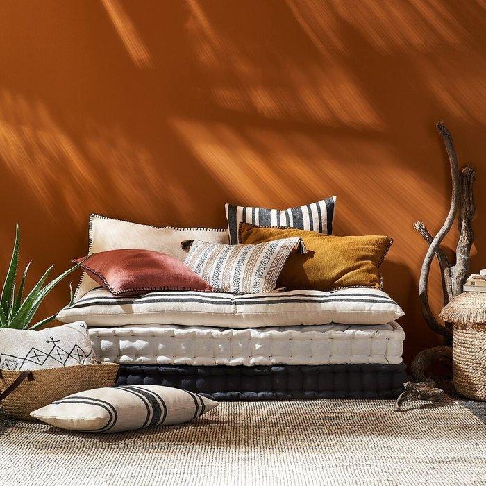 Напольный матрас Panama цвета охра 120x60