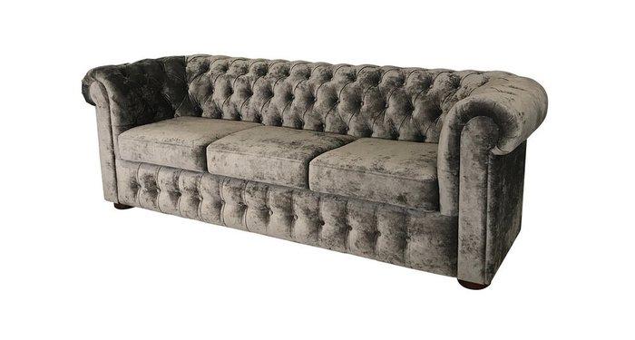 Диван-кровать Бергамо коричневого цвета