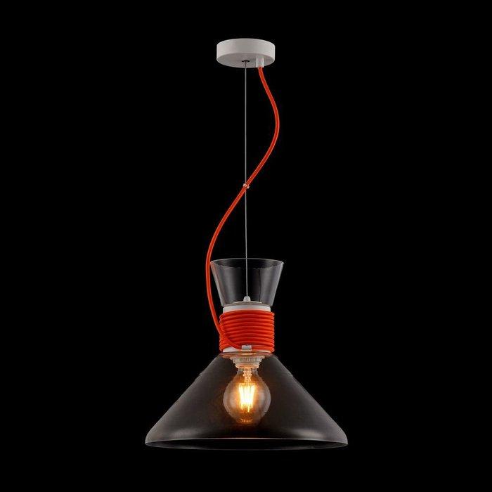 Подвесной светильник California с плафоном из стекла