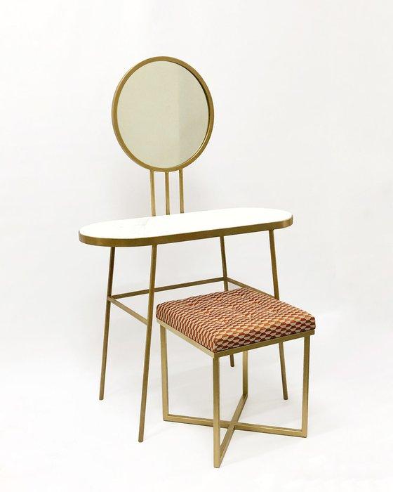 Туалетный столик Бирт на металлическом каркасе