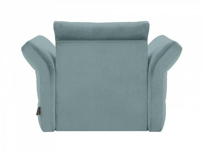 Кресло Wing серо-синего цвета