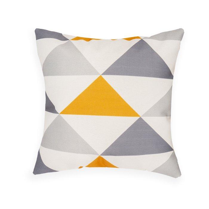 Декоративная подушка Otto с геометрическим узором