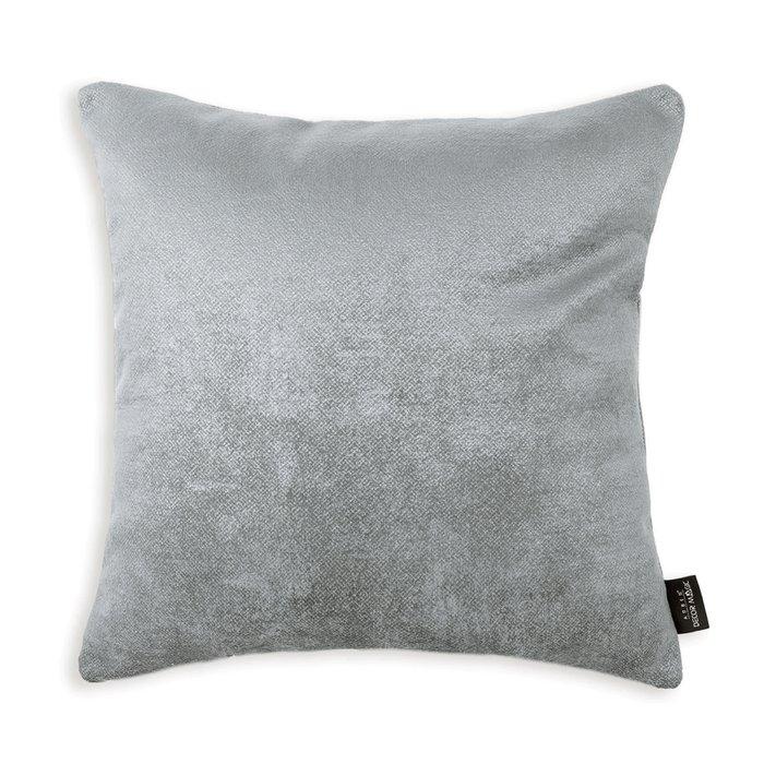 Декоративная подушка Oscar Steel 45х45 серого цвета
