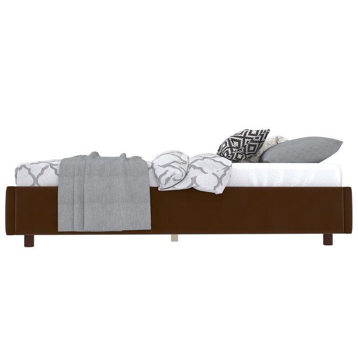 Кровать SleepBox 90x200 темно-коричневого цвета