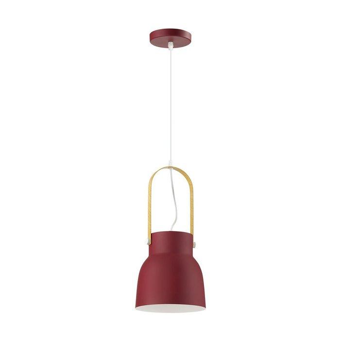 Подвесной светильник Ruby красного цвета