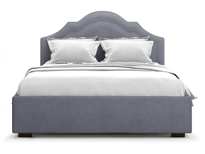 Кровать с подъемным механизмом Madzore 180х200 серого цвета