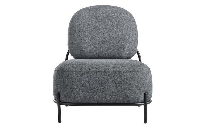 Кресло Pebble серого цвета
