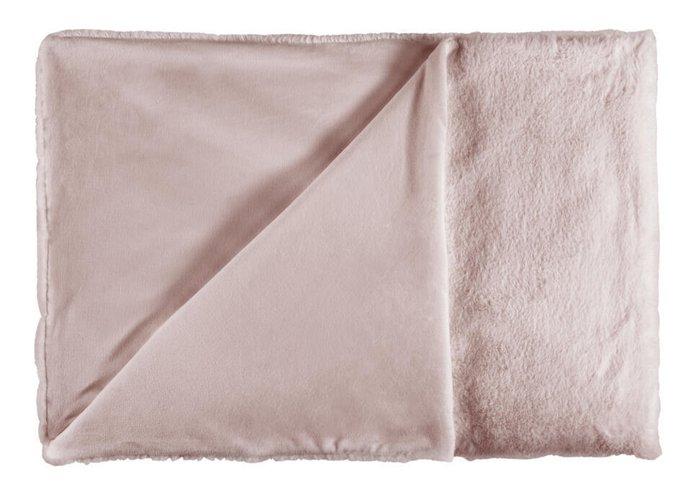 Супер мягкий плед Heaven пудрово розового цвета