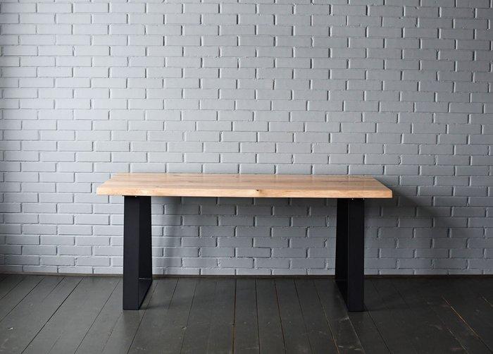 Переговорный стол Steel Stripe на металлических ножках