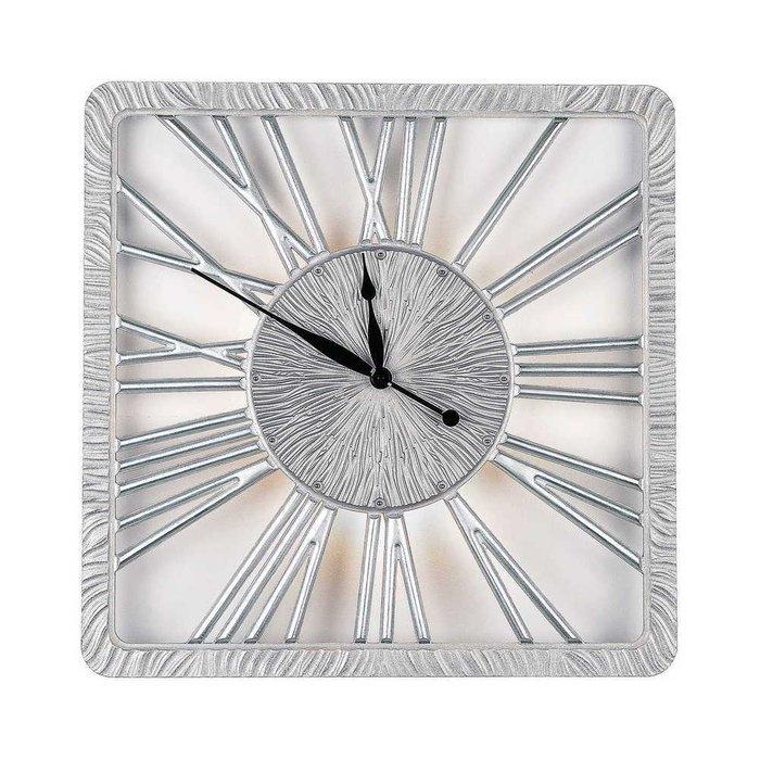 Настенные часы TWINKLE NEW silver