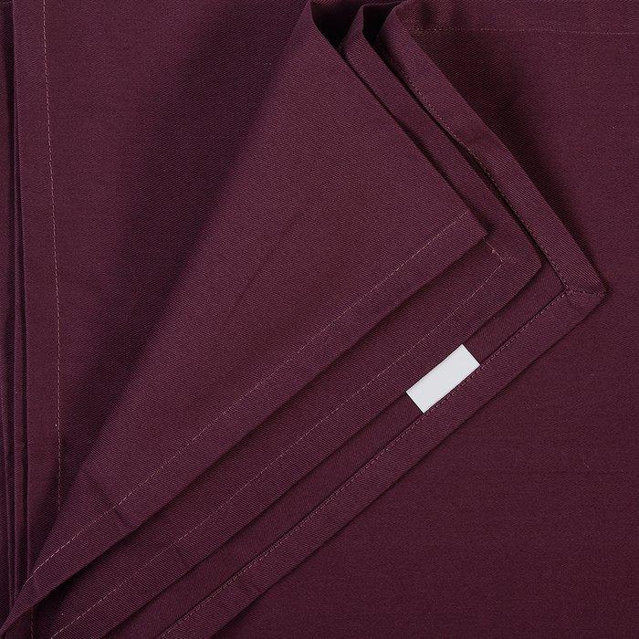 Скатерть на стол Wild бордового цвета 170х250