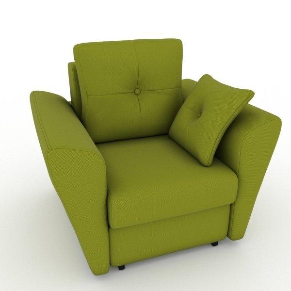 Кресло-кровать Neapol зеленого цвета