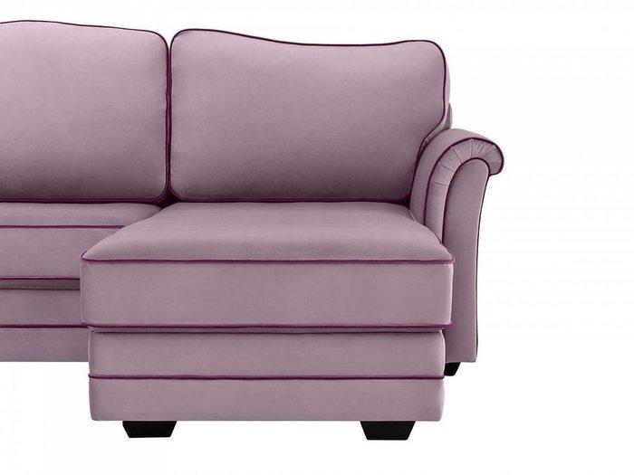 Угловой диван-кровать Sydney лилового цвета