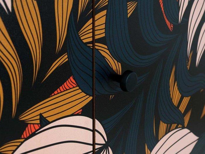 Композиция Frida 6 с принтом Tropics на деревянных ножках