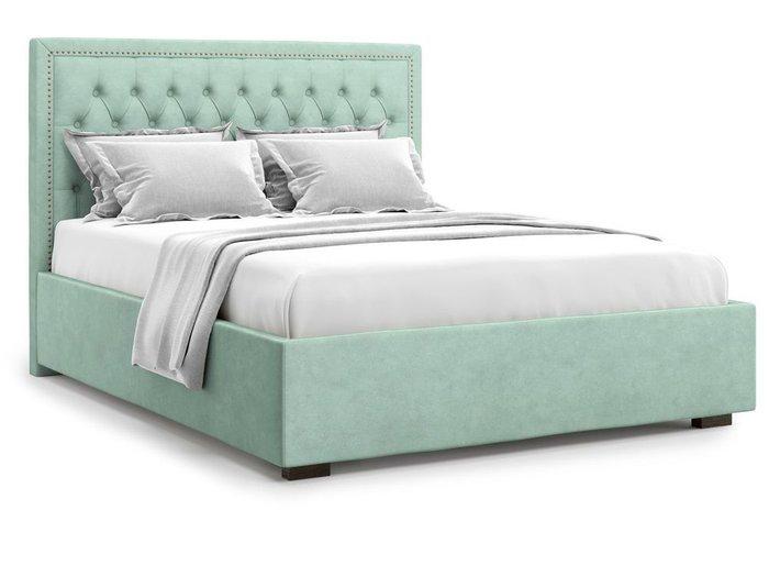 Кровать с подъемным механизмом Orto 140х200 мятного цвета