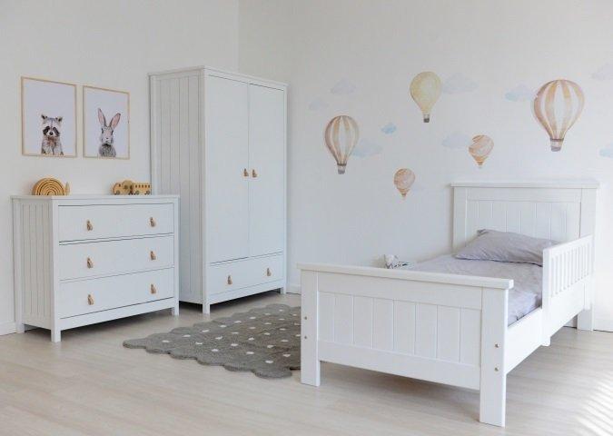 Шкаф Wood белого цвета