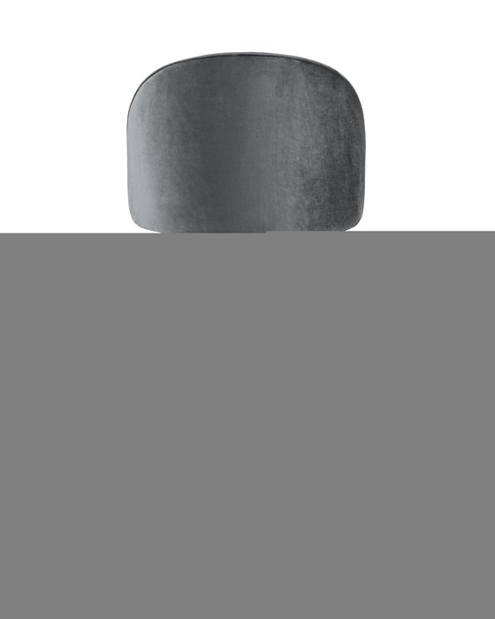 Стул барный Лион серого цвета
