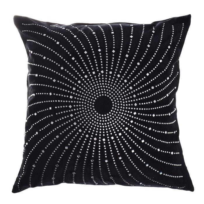 Декоративная подушка черного цвета