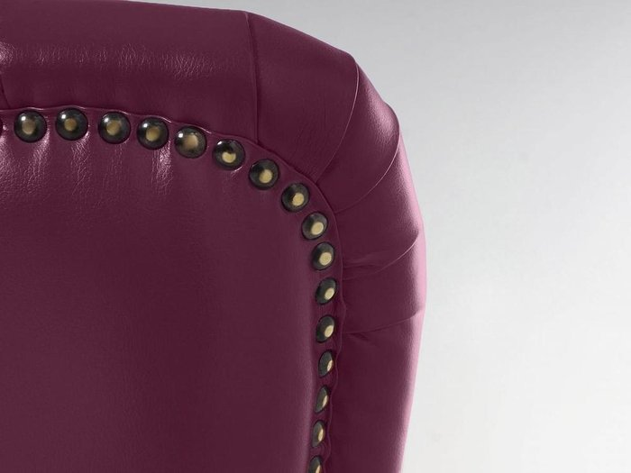 Кресло Barbara пурпурного цвета