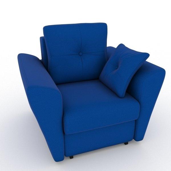 Кресло-кровать Neapol синего цвета