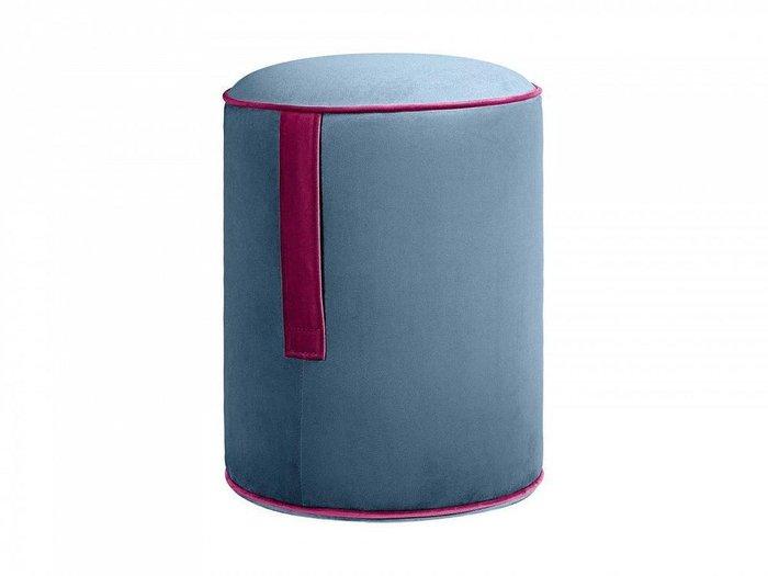 Пуф Drum Handle синего цвета
