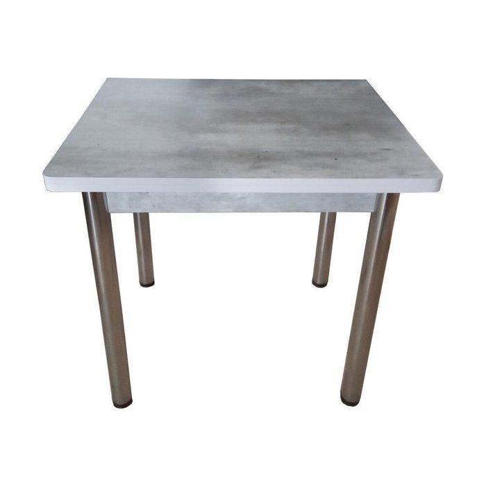 Стол раскладной серого цвета