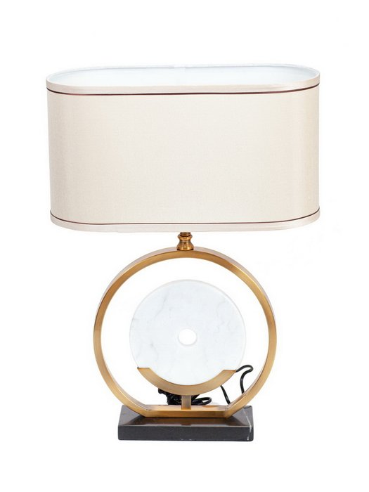 Настольная лампа Tokyo с белым абажуром