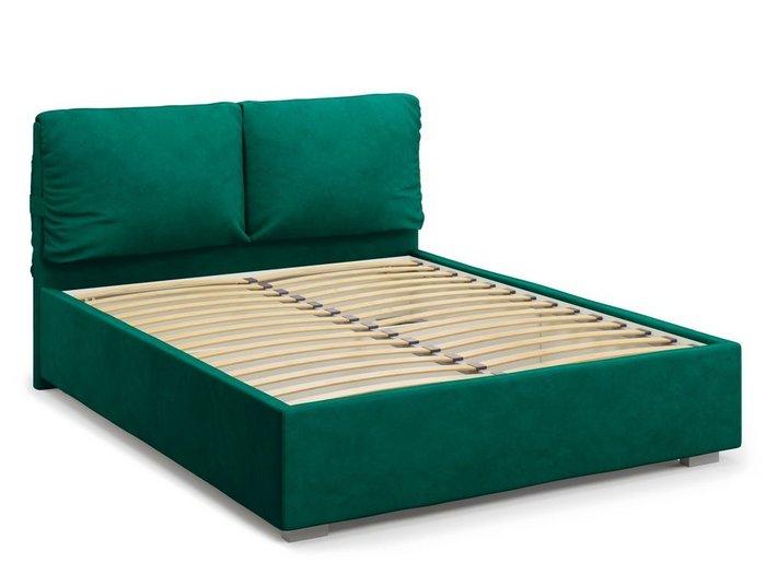 Кровать Trazimeno 180х200 зеленого цвета