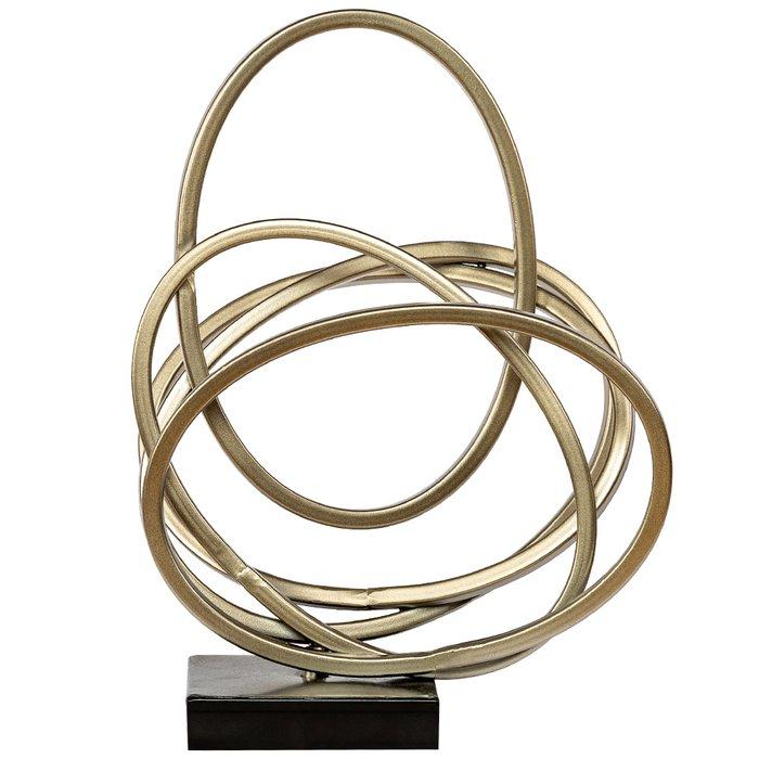 Настольный декор Солярис серебряного цвета