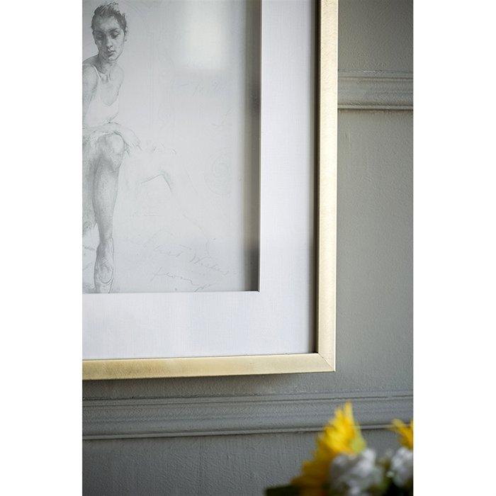 Набор картин Балерина на бумаге