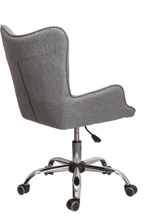 Кресло поворотное Bella серого цвета