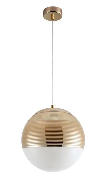Подвесной светильник Optima Gold золотого цвета