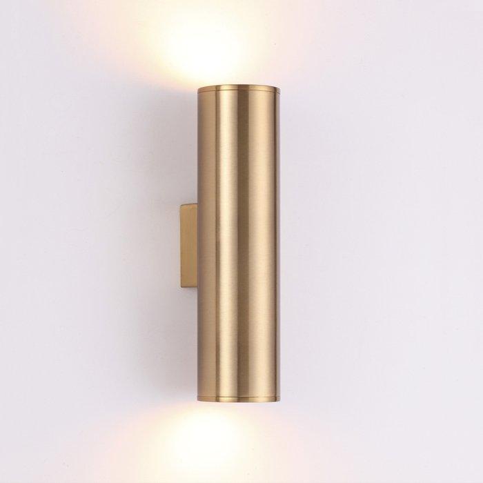 Настенный светодиодный светильник Dario золотого цвета