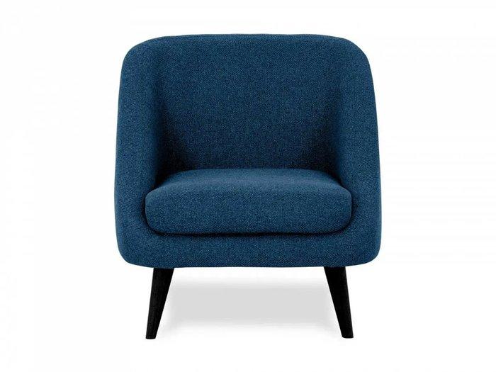 Кресло Corsica темно-синего цвета